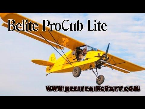 Belite Pro Cub Lite Part 103 legal ultralight aircraft from Belite Aircraft