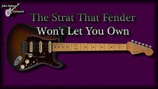 The Strat That Fender Won
