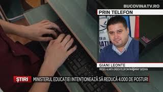 Ministerul Educatiei Intentioneaza Sa Reduca 4000 De Posturi