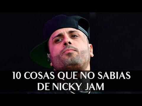 Nicky Jam video 10 cosas que no sabías de Nicky Jam - CMTV 2019