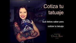 ¿Cómo cotizar tu tatuaje?