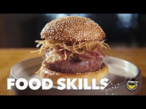 The Perfect Burger, According to April Bloomfield | Food Skills