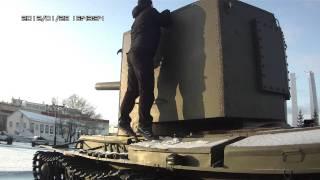 Советский танк КВ2