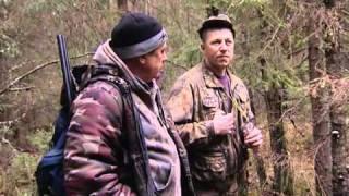 Смотреть онлайн Кадры организованной охоты осенью