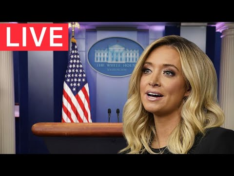 White House Urgent Press Briefing With Press Secretary Kayleigh McEnany! - Live Video