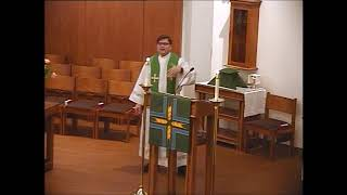 Hope Lutheran Cranberry - June 3, 2018 - Pastor Ron Brown