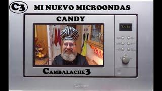 MI NUEVO MICROONDAS CANDY  MIC 201EX  (SENCILLA INSTALACIÓN)