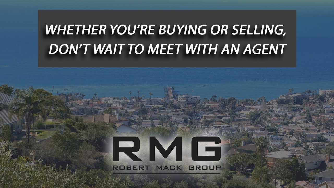 Why It's Important to Meet With an Agent Sooner Rather Than Later