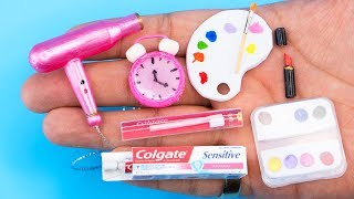 23 DIY BARBIE DOLLHOUSE MINIATURES AND CRAFTS