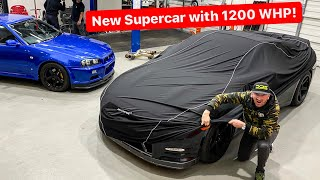 MEET MY NEW 1200 WHP SUPERCAR! *9 months in the making*