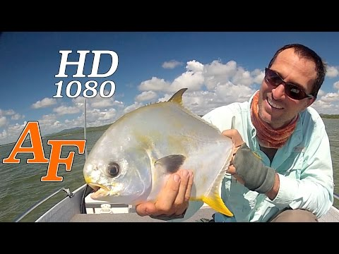 Permit fly fishing video