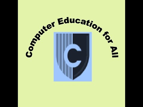 Introduction to Computer Education for All Online Free Training ...