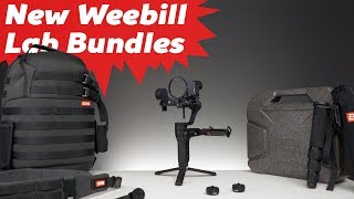 Weebill Lab Bundles: Standard, Creator, and Master Overview