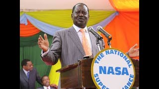 NASA ready for electoral reform and justice talks with Jubilee government