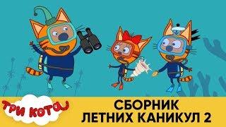 Три Кота | Сборник летних каникул 2 | Мультфильмы для детей
