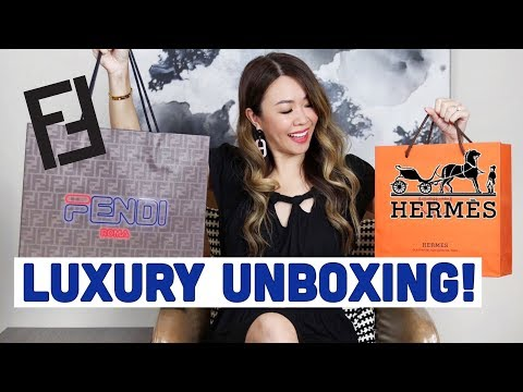 FENDI & HERMES LUXURY UNBOXING/HAUL - NEW BAG REVEAL! | Mel In Melbourne