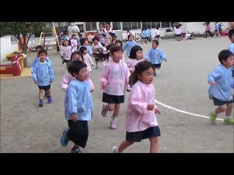 笠間 友部 ともべ幼稚園 子育て情報「今年度最初の3分間マラソン」