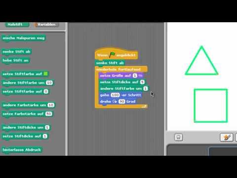 Scratch Tutorial Malstift [HD] - TutorialChannel