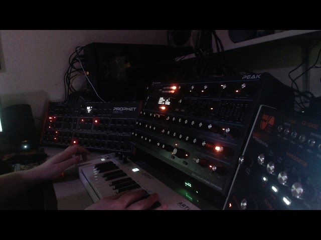 Synth Noodling - Rev 2 & Peak Ambient Melody