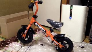 enkeeoランニングバイクペダルなし子供用自転車2歳~6歳