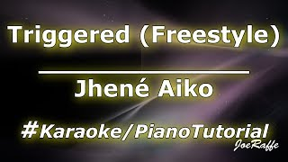 Jhené Aiko   Triggered (Freestyle) (KaraokePiano Tutorial)