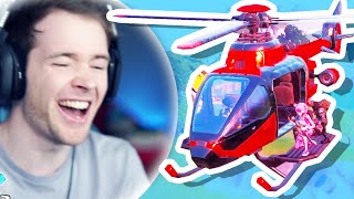 Fortnite Added HELICOPTERS!