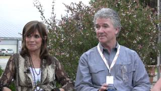 Linda Gray, Patrick Duffy, Sheree J Wilson and Steve Kanaly interview (VO)