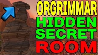 World of Warcraft: Orgrimmar's Hidden SECRET Room !!