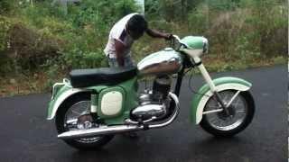 Jawa Motorcycle Restoration 1