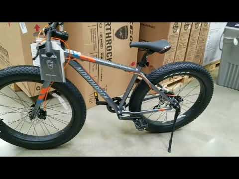 New! 2018 Costco Northrock XC00 Fat Tire Bicycle! $299!  VS my 2017 version