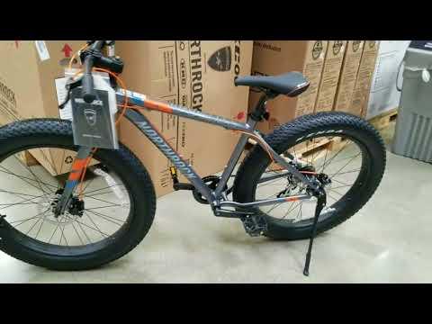 New! 2018 Costco Northrock XC00 Fat Tire Bicycle! $299!  VS my 2017 version