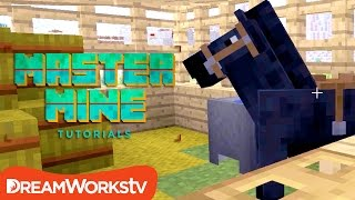 How to Make a Horse Stable in Minecraft with Millie Ramsey | MASTER MINE TUTORIALS
