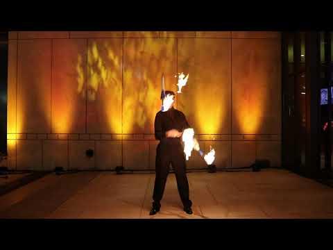 Crickett – Fire Club Juggling – Maryland MGM Casino