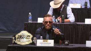 Conor McGregor introduces the UFC to 'red panty night'