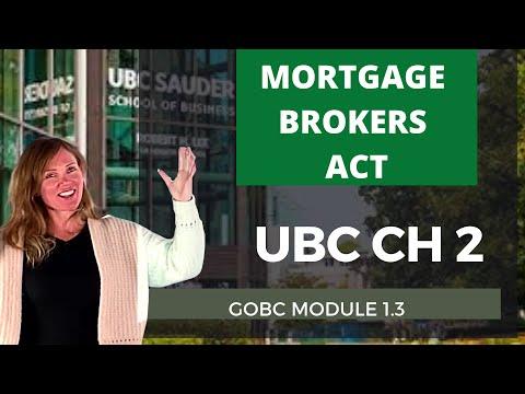 UBC Mortgage Broker Exam Prep- Free Chapter 2 - YouTube