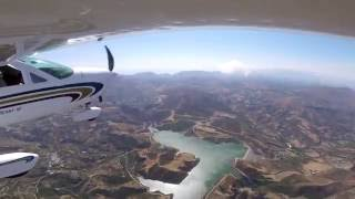 fly over west crete