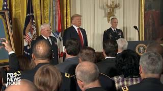 WATCH: President Trump awards Medal of Honor to Vietnam War veteran