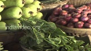 Vegetable Market in Battala, Tripura