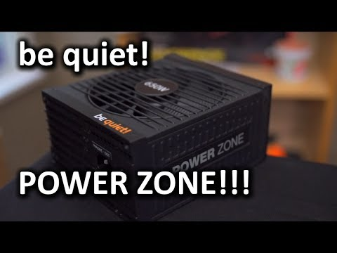 be quiet! Power Zone Power Supply Unboxing & Overview