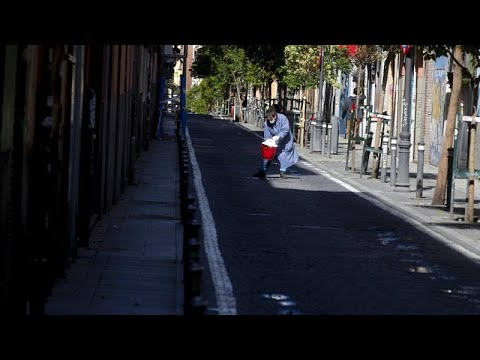COVID-19: Αύξηση νεκρών και κρουσμάτων στην Ισπανία