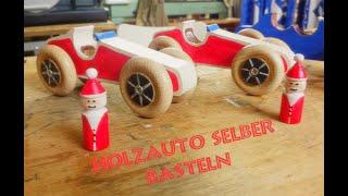 Spielzeug-Autos aus Holz selber bauen (Weihnachts-Edition) *** Frohes Fest ***