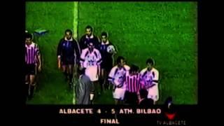 Albacete 4 - Athletic 5. Temp. 92/93. Jor. 32