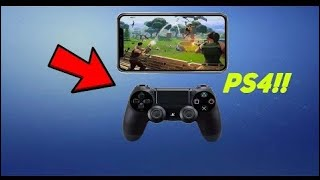 how to connect ps4 controller to fortnite mobile 2019 - TH-Clip