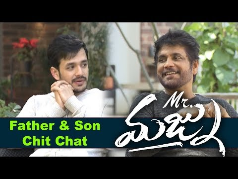 nagarjuna-and-akhil-akkineni-chit-chat-about-mr-majnu