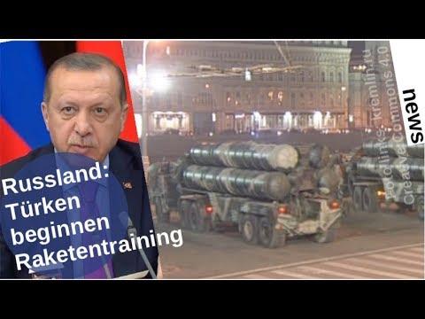 Russland: Türken beginnen mit Abwehrraketen-Ausbildung [Video]