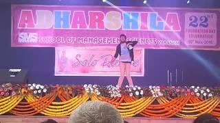 MUKABLA & KALA CHASMA DANCE PERFORMENCE BY ARAVINDHIICT3 Rd YearSMS COLLEGE VARANSI