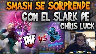 SMASH REACCIONA A LA PARTIDA DE INFAMOUS VS NEWBEE!!   DOTA 2