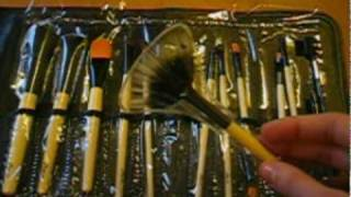 Review Set Basic 12 pennelli Zoeva + Kabuki 120 + Pennello cipria 106 (PARTE 2/2)