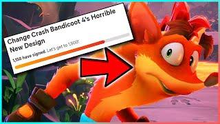 "Crash Bandicoot 4's ""Horrible"" New Design"