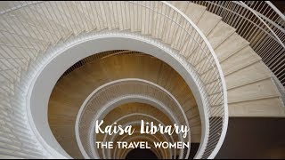 Helsinki Kaisa University Library Architecture Tour
